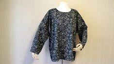 여자 오버사이즈 티셔츠 만들기 패턴 명절 때 완성한 할매옷 입니다. 항상 느끼는 거지만 원단은 역시 단색... Dresses With Sleeves, Long Sleeve, Blog, Projects, Fashion, Gowns With Sleeves, Blue Prints, Full Sleeves, La Mode