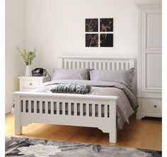 Ascot Double Bed - Home and Garden Design Ideas