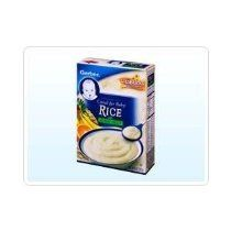 Gerber Rice & Mixed Fruit Whole Grain Cereal for Baby & Toddler 8 oz. (Pack of 4)