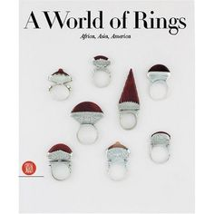 BOOK - (ETHNIC)- A World of Rings - Africa, Asia, Americas de Anne van Cutsem (2007)
