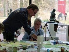 Rostock kreativ | Aquarellkurs mit Frank Koebsch in der Kunsthalle Rostock im Rahmen Rostock kreativ (8)