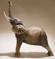 Afbeeldingsresultaat voor elephant sculpture