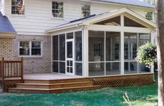 Sunroom Built On A Deck in Houston, TX by Lone Star Patio Builders are an affordable option to build a room addition onto any home. Call for sunroom quote.
