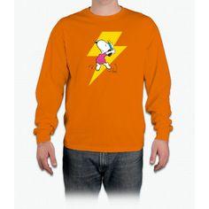 Peanuts Snoopy Dance Lightning Long Sleeve T-Shirt