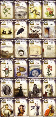 The Lenormand Revolution von Roz Foster u. Astro Tarot, Fortune Telling Cards, Joker Card, Tarot Card Meanings, Easy Art Projects, Oracle Cards, Card Reading, Tarot Decks, Mini Books