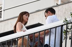 Safe:The cast have just arrived in Paris from Nice, where they were staying a stone's thr...