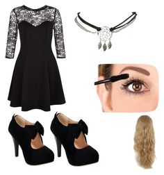 """Fancy night out"" by emilyrow ❤ liked on Polyvore"