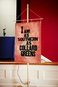 the south + collard greens