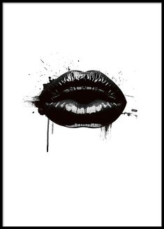 Fashion Lips, poster in group poster / sizes and forma .- Fashion Lips, poster in der Gruppe Poster / Größen und Formate / bei D… Fashion Lips, poster in the group Poster / sizes and formats / at Desenio AB - Black And White Posters, Black And White Wall Art, Moda Wallpaper, White Wallpaper, Wallpaper Ideas, Gold Poster, Images D'art, Groups Poster, Poster Sizes