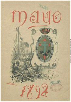 EL SALÓN DE AÑAZA. Número único publicado el 31 de mayo de 1892 como recuerdo de las fiestas de este mes. Contiene varios dibujos, trabajos literarios y música.