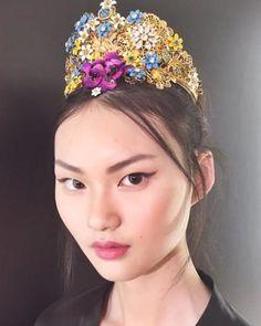 The Hair Accessories at Dolce & Gabbana Were Major | allure.com