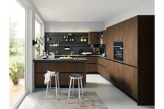 The best kitchen design ideas for your home in This expert trends round up reveals the latest modern kitchen ideas and contemporary kitchen trends from storage to two-tone kitchens. Industrial Kitchen Design, Luxury Kitchen Design, Contemporary Kitchen Design, Luxury Kitchens, Kitchen Interior, Kitchen Decor, Kitchen Ideas, Kitchen Planning, Custom Kitchens