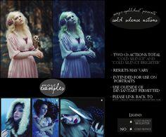 Cold Silence Portrait Photoshop Actions by magic-spelldust.deviantart.com