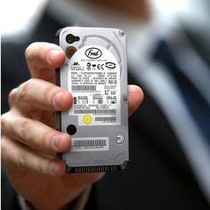 Fancy - Hard Drive iPhone Case