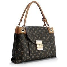 2012 Louis Vuitton Monogram Canvas Olympe Bag M40580 camel #bags #fashion