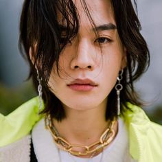 kjs__jun Pretty People, Beautiful People, Asian Male Model, Aesthetic People, Just Beauty, Face Characters, Hair Shows, Human Art, Facon