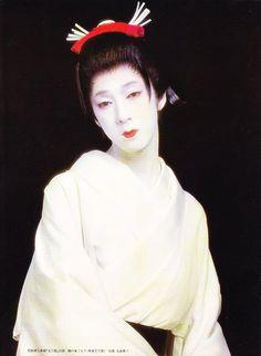 onnagata ~ male kabuki actors playing female roles. Beautiful <3 Androgynous Boy, Noh Theatre, Mono No Aware, Kabuki Costume, Japan Art, Japanese Culture, Popular Culture, Images, Kimono