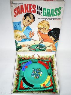 Snakes In The Grass  Vintage 1960s Board Game by EcoRetroStore, £19.99
