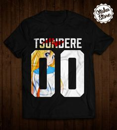 """Anime """"Nisekoi / Tsundere"""" t-shirt. Anime DTG print."""