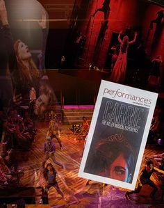 """Return production of """"Carrie the Musical"""" ... October 8 - November 22, 2015 (previews began October 1) ... Production transferred from the La Mirada Theatre ...  Scenic Design by Stephen Gifford ... Music by Michael Core ... Lyrics by Dean Pitchford ... Adapted from Stephen King's novel ...  Directed by Brady Schwind."""