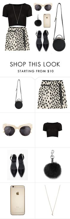 """""""Dalmatian"""" by baludna ❤ liked on Polyvore featuring Sonia by Sonia Rykiel, Shakuhachi, Topshop, Forever 21, Rebecca Minkoff and Minor Obsessions"""