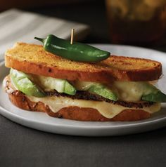Grilled Hatch Chile Cheese Sandwich. Need we say more?