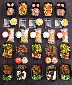 Mexican Food Meal Prep for the Calorie Level 21 Day Fix Meal Plan, Meal Prep Plans, Meal Prep For The Week, Diet Meal Plans, Food Prep, Healthy Meal Prep, Healthy Eating, Healthy Recipes, Healthy Options