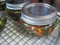 Burp! Recipes: Candied Jalapenos