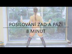 POSILOVÁNÍ ZAD A PAŽÍ - FitnessGo - YouTube Victoria, Ballet, Exercise, Workout, How To Plan, Youtube, Tv, Ejercicio, Work Out