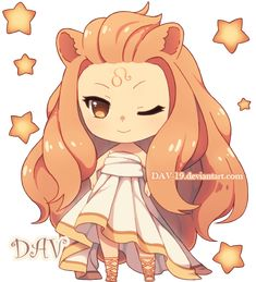 Chibi Leo by *DAV-19 on deviantART