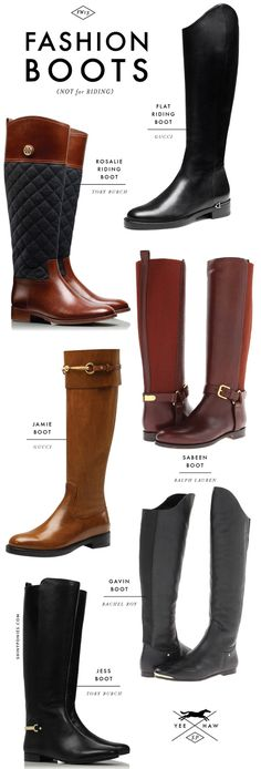 """A cute collection of some """"non-riding"""" equestrian-style boots!  #charleighscookies #boots #equestrian"""