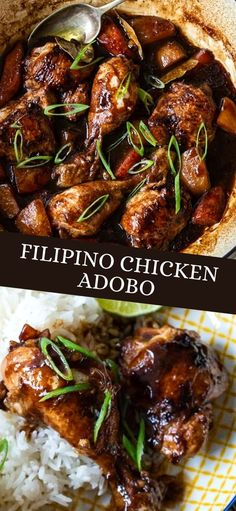 Philapino Recipes, Entree Recipes, Asian Recipes, Chicken Recipes, Cooking Recipes, Healthy Recipes, Chicken Adobo Recipe Easy, Soy Sauce Chicken, Budget Recipes