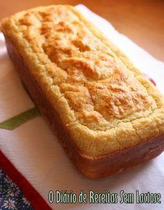 O Diário de Receitas Sem Lactose: Pão de Forma Tradicional Sem Glúten Sem Lactose