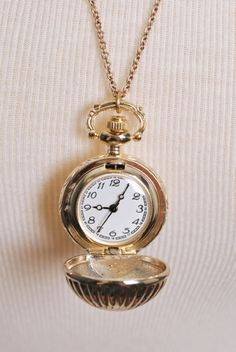 want a pocket watch for a necklace so badly
