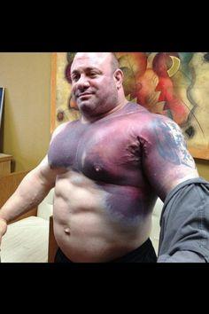 pink world fat guy
