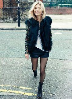 Kate Moss for Rag&Bone - Vogue. Style Blog, Mode Style, Style Me, Hair Style, Mode Outfits, Stylish Outfits, Party Outfits, Estilo Kate Moss, Kate Moss Stil