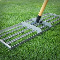 Garden Tool Shed, Lawn And Garden, Lawn Leveling, Landscaping Tools, Backyard Landscaping, Lawn Care Business, Lawn Care Tips, Lush Lawn, Lawn Equipment