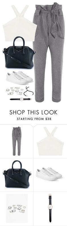 """Untitled#4577"" by fashionnfacts ❤ liked on Polyvore featuring Vivienne Westwood Anglomania, BCBGMAXAZRIA, Givenchy, Dolce&Gabbana, Free People, Daniel Wellington and Monica Vinader"
