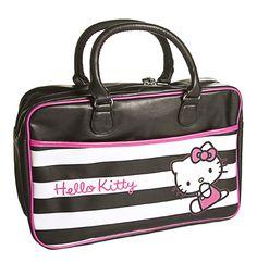 Hello Kitty Retro Stripes Gym Bag