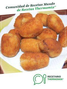 Croquetas de jamón y pollo por Beloni. La receta de Thermomix® se encuentra en la categoría Aperitivos y tapas en www.recetario.es, de Thermomix®