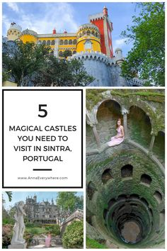 Magical Castles in Sintra You Need to Visit. Pena Palace, Quinta da Regaleira & more.