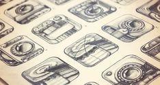 iPhone App design icon pencil