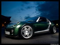 Smart Roadster Coupe in Green by GarethDix, via Flickr