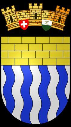 Blason de la commune de Fontaines-sur-Grandson. District du Jura-Nord vaudois. Une des plus petites communes du canton de Vaud.