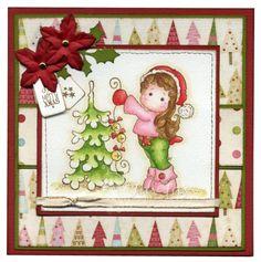 ~* Jay Jays kreative Welt *~: DT Tilda's Town Challenges #41 - Christmas