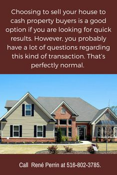 Can't decide if you want to sell your house for cash? Read this now!   #WeBuyHousesCashLongIslandNY #RenePerrin