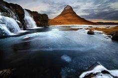 Kirkjufell, Westland , Iceland