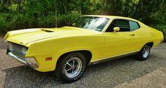 Screaming Yellow Zonker: 1971 Ford Torino GT - http://barnfinds.com/screaming-yellow-zonker-1971-ford-torino-gt/