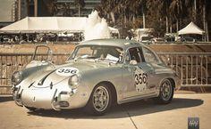 Porsche 356 Silver Coupe