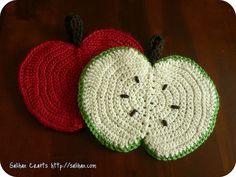 Ravelry: Apple Tawashi Dishcloth pattern by Salihan Laugesen